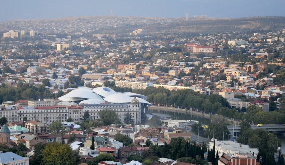 Tbilisi Public Service Hall by Studio Fuksas