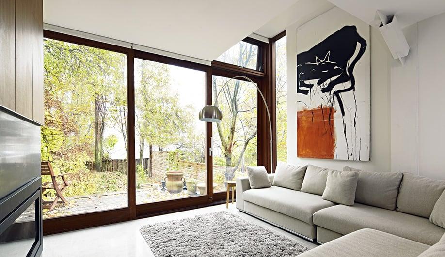 A Toronto Home 39 S Cozy Modern Renovation Azure Magazine