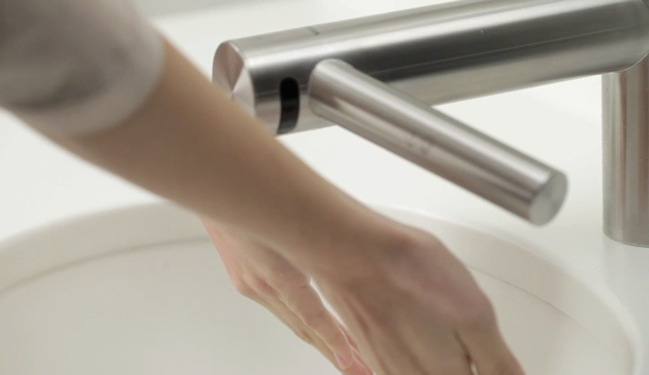 Dyson\'s Innovative Faucet–Hand Dryer - Azure Magazine