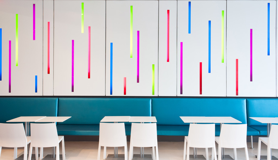 A Colourful Frozen Yogourt Shop in Toronto