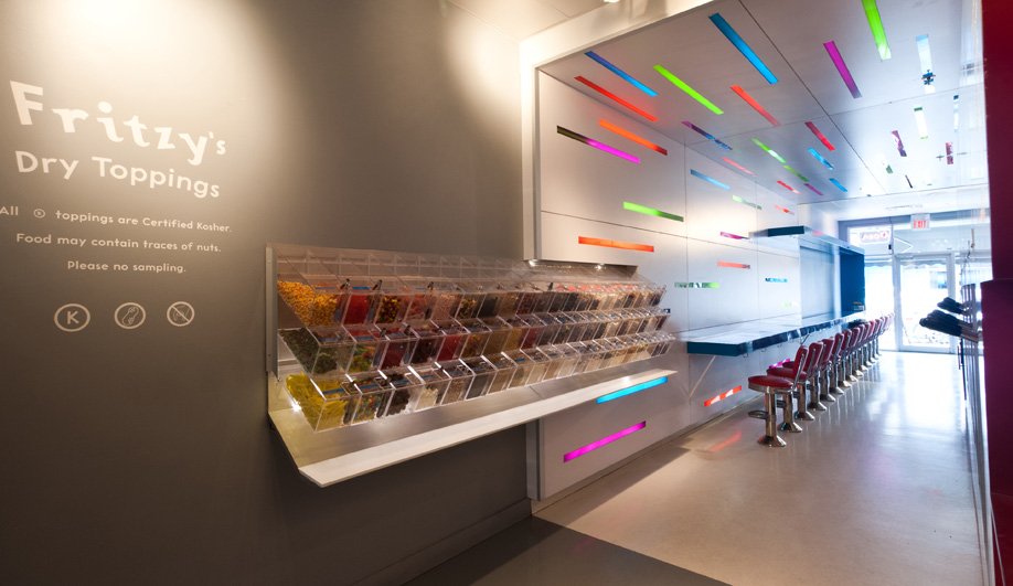 A Colourful Frozen Yogourt Shop in Toronto - Azure Magazine