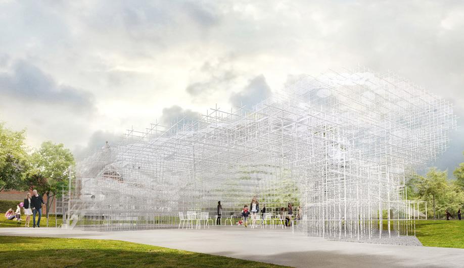 Sou Fujimoto's Barely-There Serpentine Pavilion