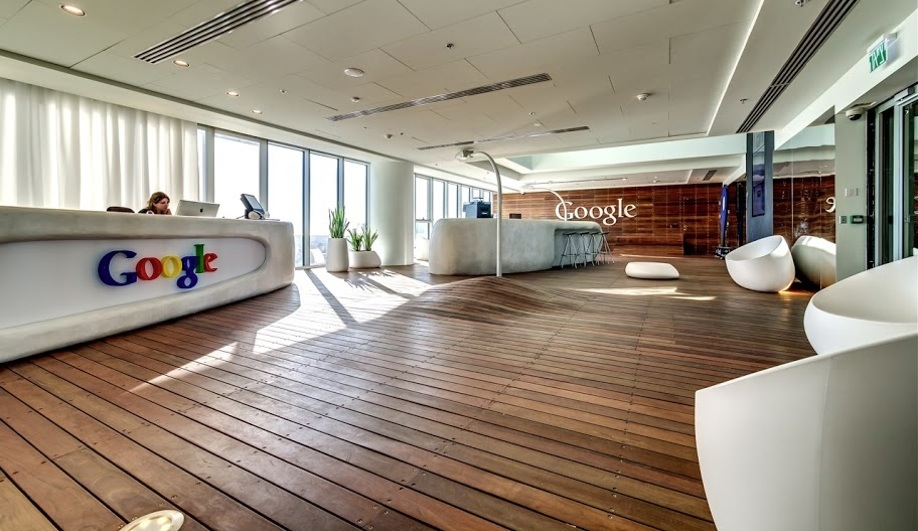Google's First Office in Israel
