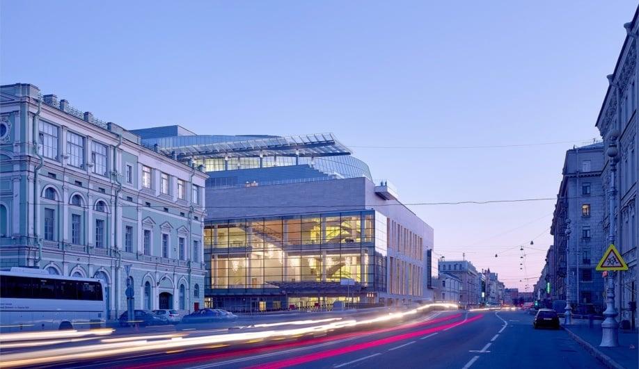 Diamond Schmitt's New Opera House in St. Petersburg