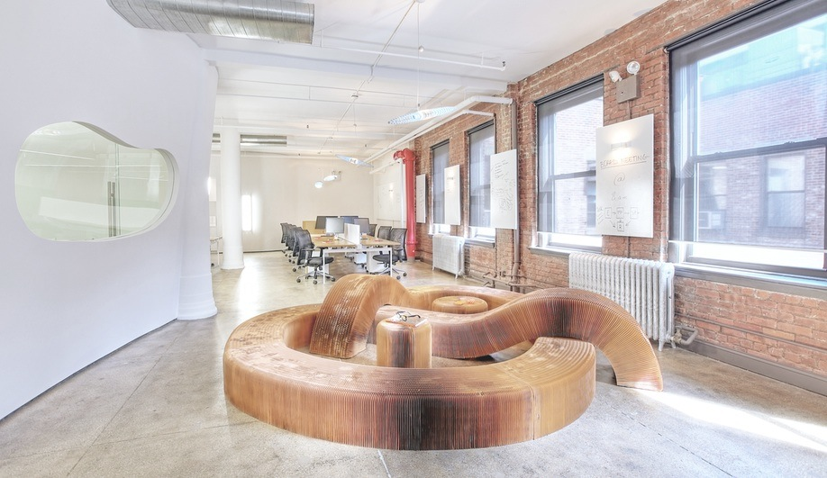 A Curvy Office in New York