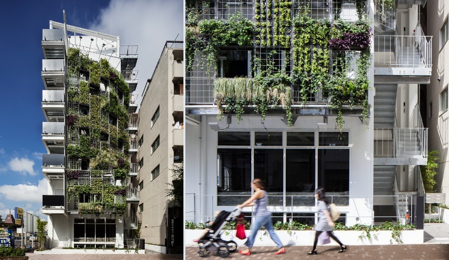 The Hanging Garden of Tokyo