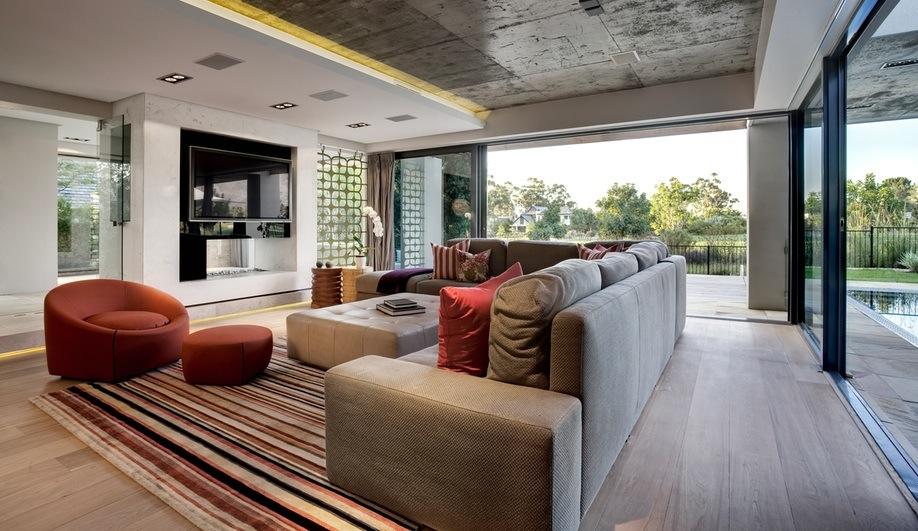 Стильный дом дизайн интерьера