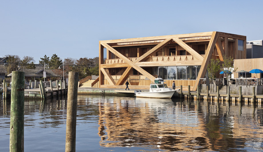 The New Pines Pavilion at Fire Island
