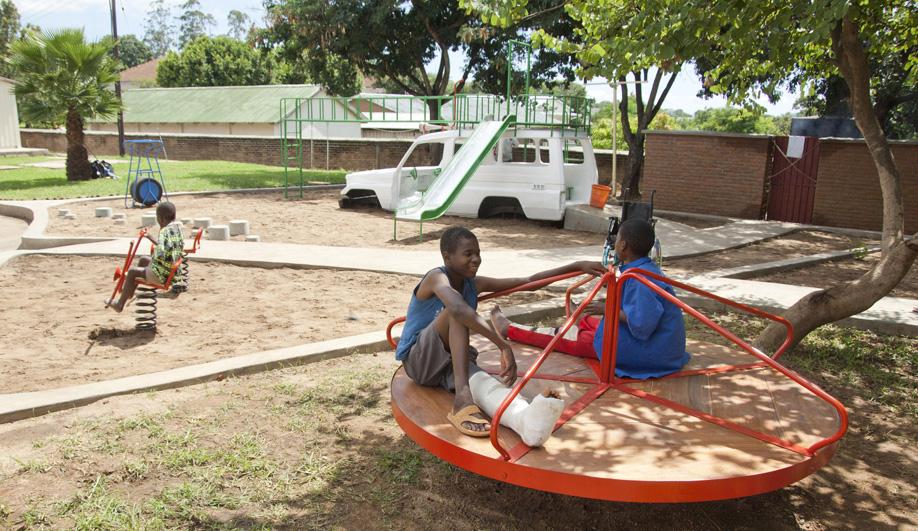 A Playground that Heals