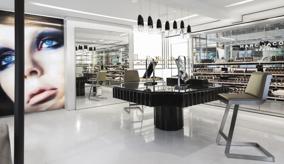 Marc Jacobs Beauty Gets a Gem-Like Interior