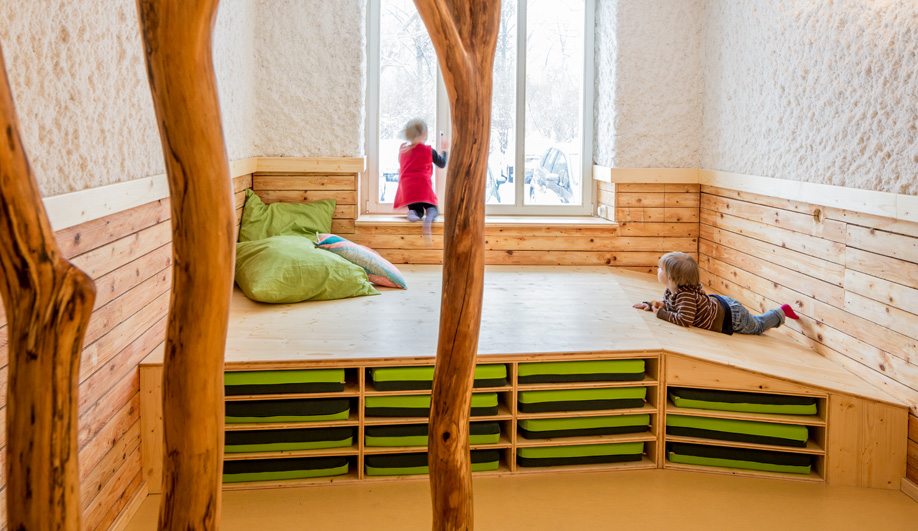 A Treehouse-Inspired Kindergarten in Berlin