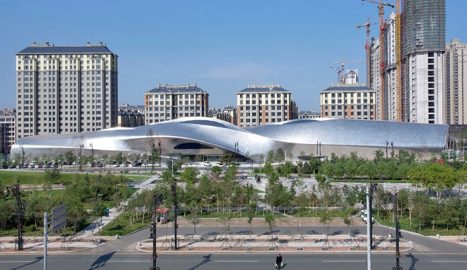MAD's Shiny New Museum in China