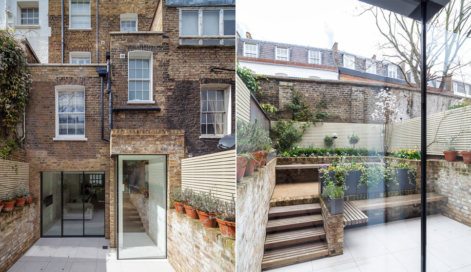 A Transparent Addition to a London Townhouse