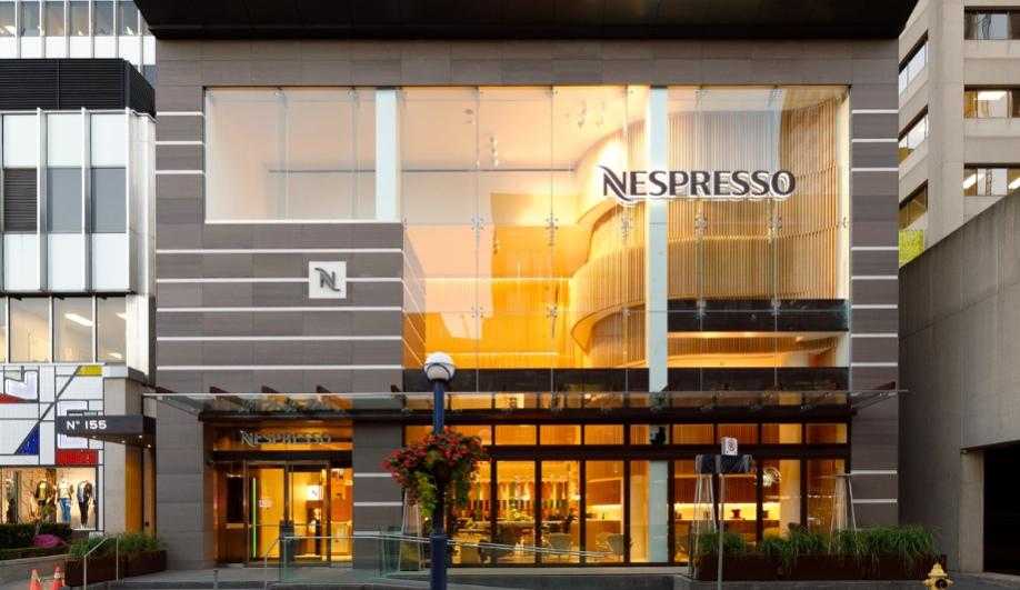 Nespresso Opens in Torontos Swanky Yorkville  Azure Magazine -> Nespresso Toronto