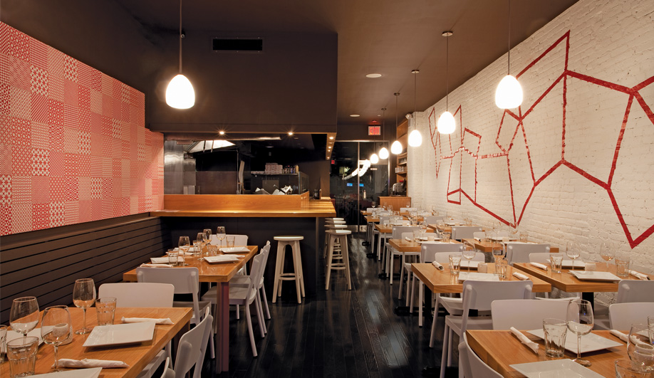 Old Meets New in a Manhattan Pizzeria