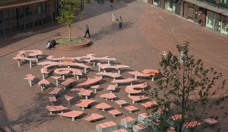 An Imaginative Public Square in Amsterdam