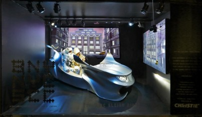 Barneys' Holiday Windows Go High-Tech