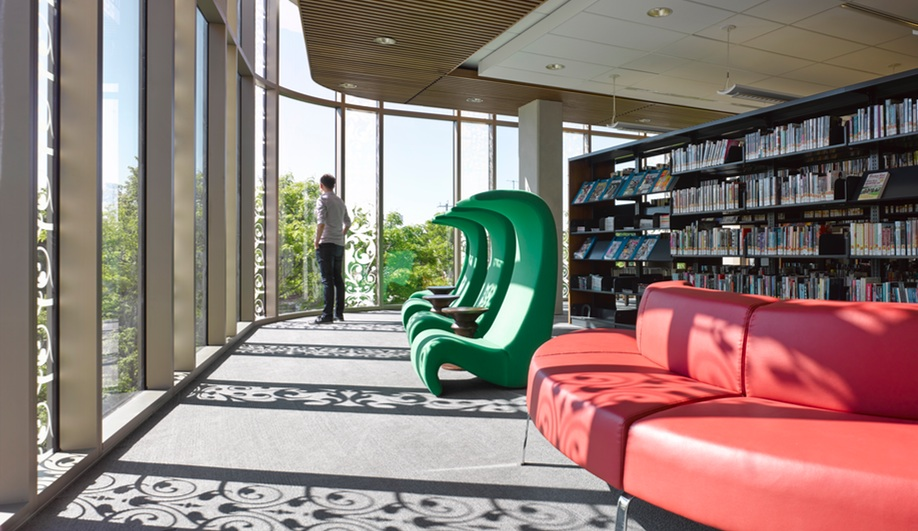 A Library To Transform a Town