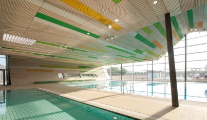 A Vibrant Pool in Germany
