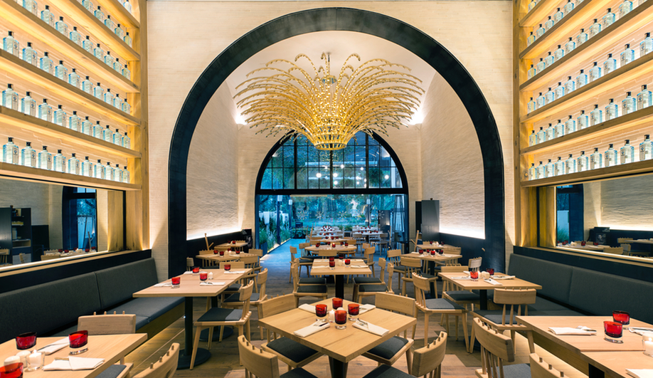 A Swanky Trattoria in Mexico City