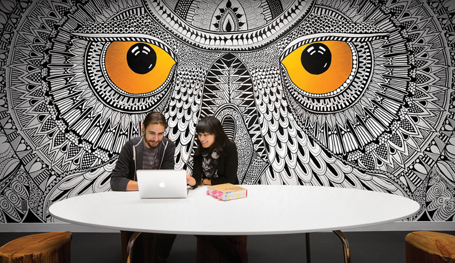 HootSuite's Woodsy Vancouver Digs