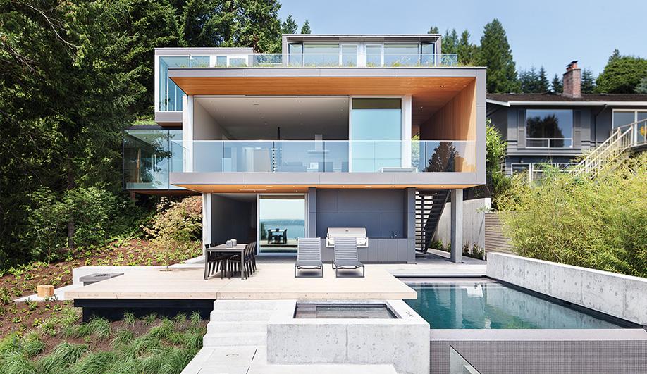 Return to West Coast Mod - Azure Magazine on jungle home design, river home design, western home design,