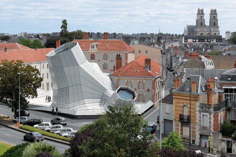 Azure The Fantastic FRAC Centre in France 01