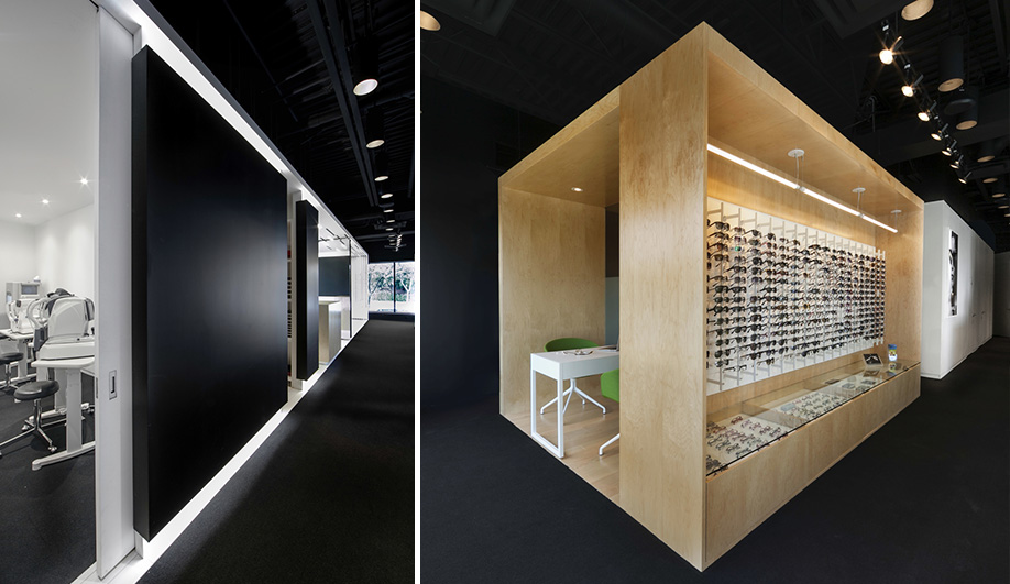 eyewear shop  A Brilliant New Eyewear Shop - Azure Magazine