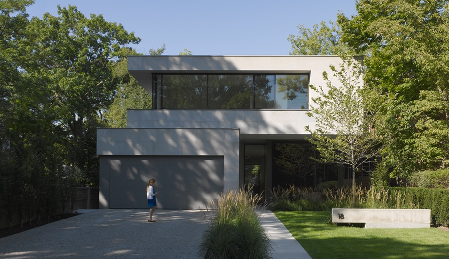 A Sculptural Toronto House Made For Living In Azure