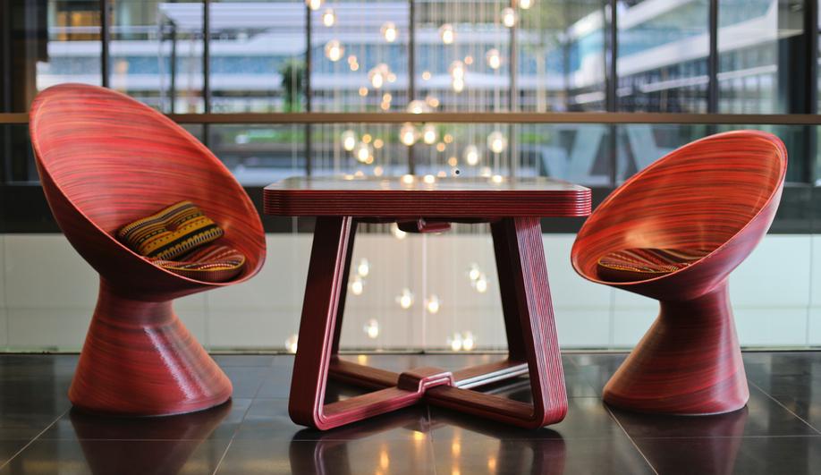 Dirk Vander Kooij's Robot-Made Furnishings