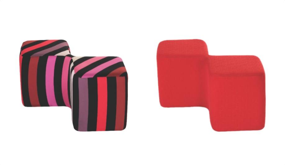 8 posh pouffes azure magazine. Black Bedroom Furniture Sets. Home Design Ideas
