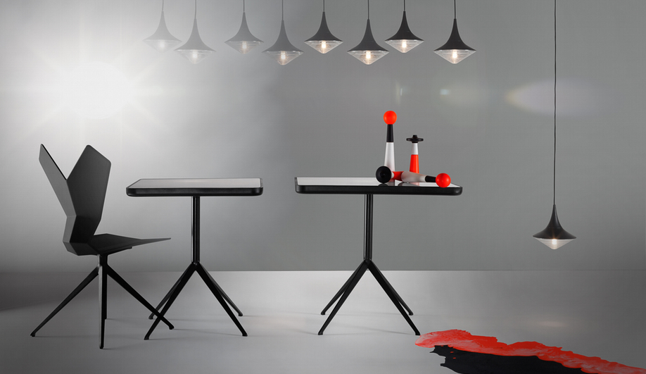 The Y collection of tables and chairs