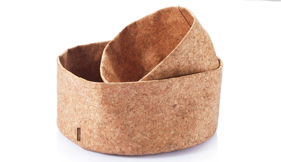 Azure Cork Bambu bowls