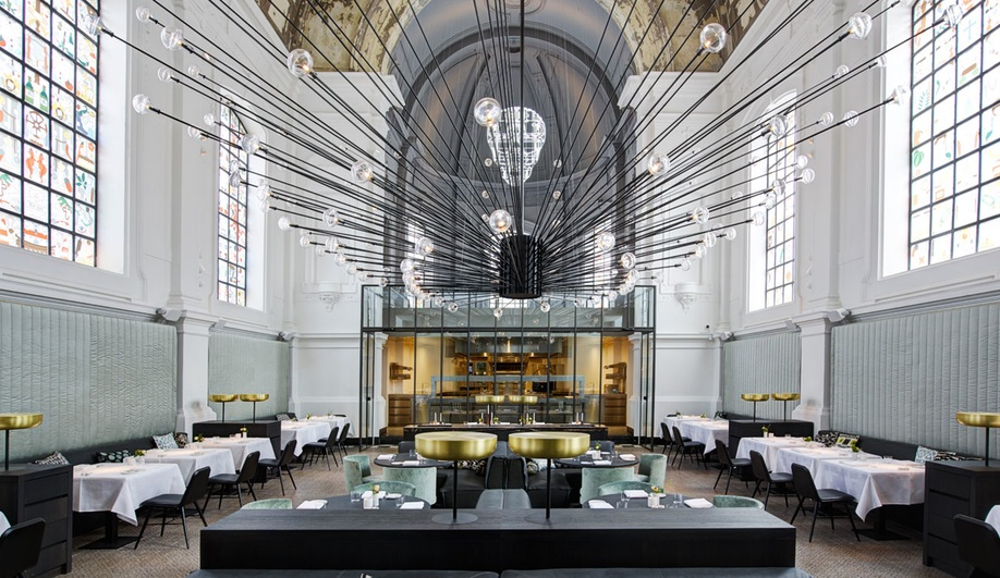 A Converted Chapel for Dining In Style