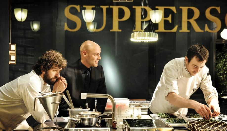 Uruguayan chef Matias Perdomo oversees staff
