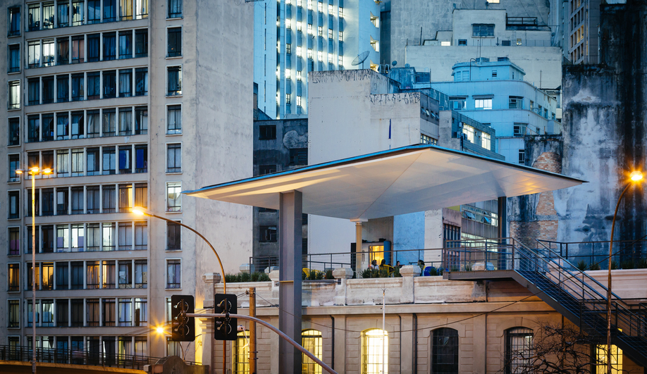 Red Bull's Cultural Centre in São Paulo