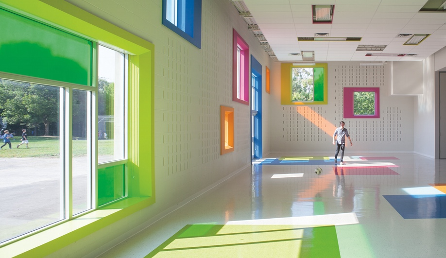 How A Vibrant Addition Re Animates Toronto School