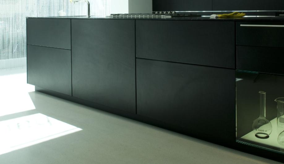 Azure Bulthaup kitchen black trend