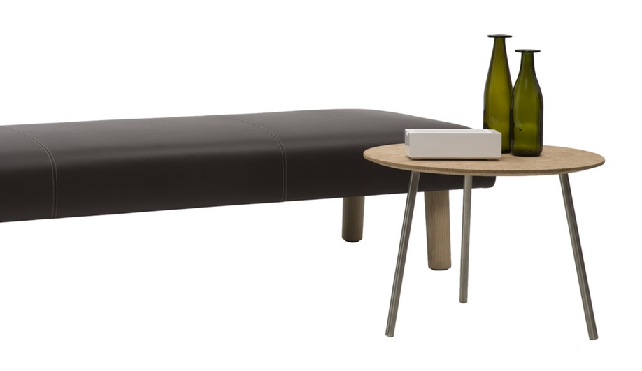 Jasper Morrison's Monforte bench for Cappellini