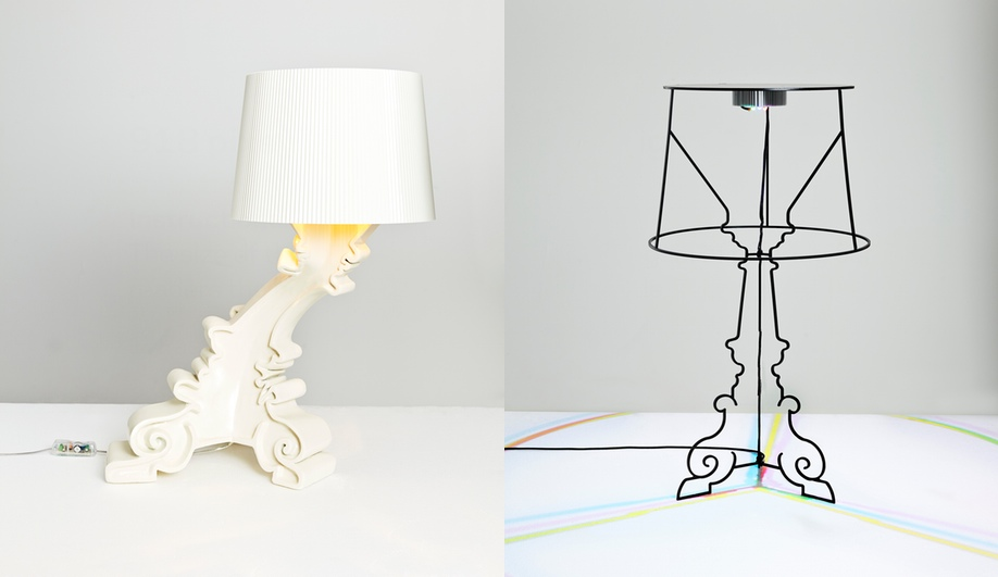 Design Stars Revamp Kartell's Iconic Bourgie Lamp