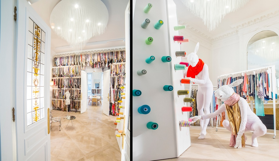 A Textile Wonderland in Paris