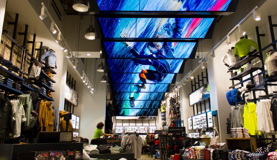 Moment Factory's Dazzling Multimedia Display for Oakley