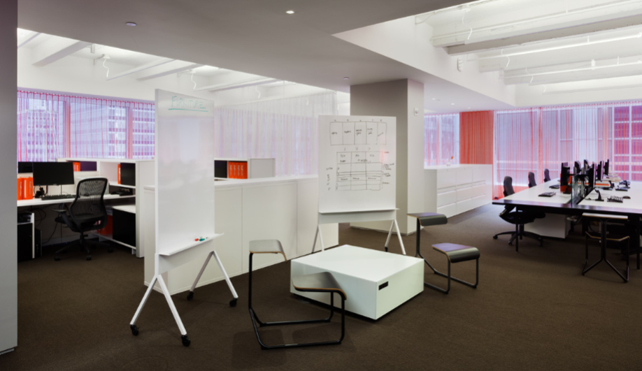 Azure NYC Showroom Knoll 2