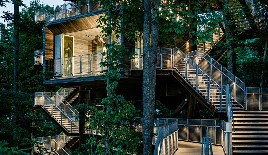 The Boy Scouts Get A Fantastic New Treehouse