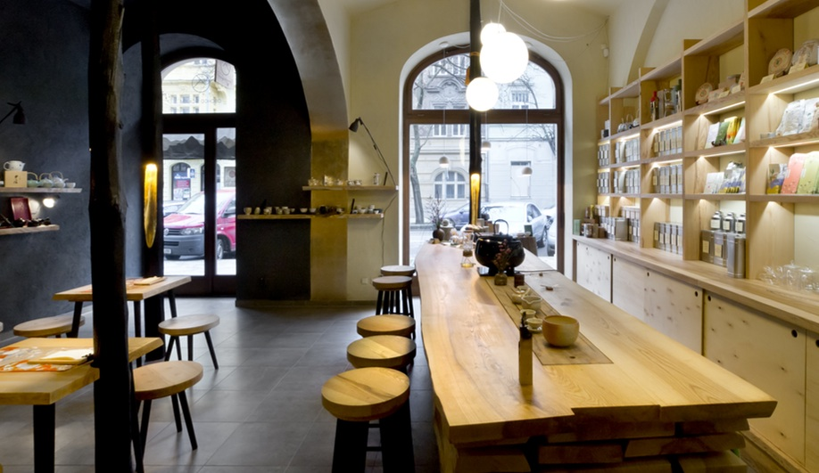 A Prague Teashop With A Split Personality