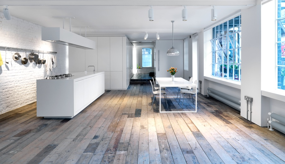 Converting a London Loft Into a Bright LiveWork Space Azure