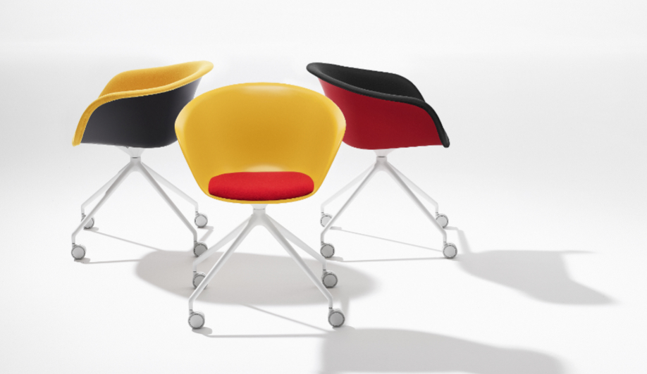 Azure NeoCon Arper task chair