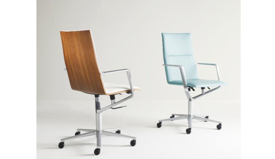 Azure NeoCon Davis task chair