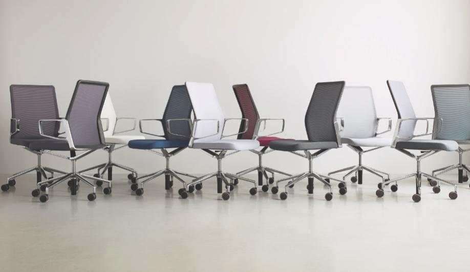 Azure NeoCon Keilhauer task chair 3