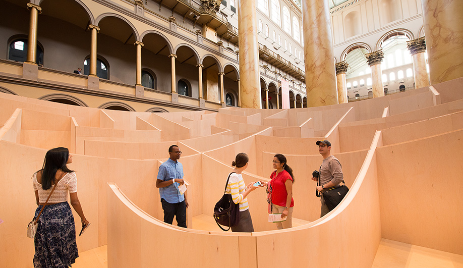 A BIG Reveal at the National Building Museum